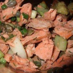 Salmon And Caper Salad recipe