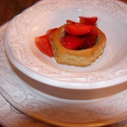 Strawberry Salad In Puff Pastry Shells recipe