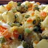 Salade Olivier Or Russian Potato Salad recipe