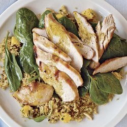 Curried Couscous Chicken Salad recipe