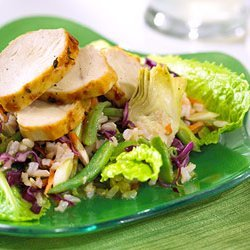 Grilled Chicken And Rice Salad recipe
