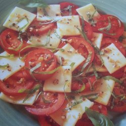 Tomato Mozzarella N Basil Salad recipe