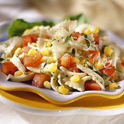 Corn And Tomato Pasta Salad recipe