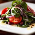 Spinach Salad With Lamb And Feta Cheese recipe