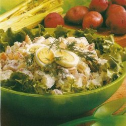 Potato Salad With A Creamy Dressing recipe