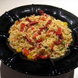 Orzo Salad With Pine Nuts And Vegetables recipe