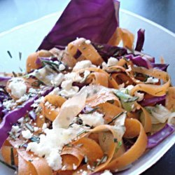 Colorful Ribbon Salad recipe