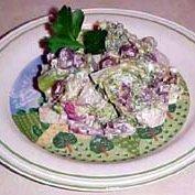 Blue Cheese  Waldorph Broccoli Salad recipe