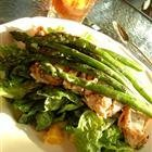 Grilled Mojo Chicken Salad With Asparagus recipe