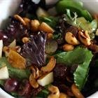 Curried Cashew Pear And Grape Salad recipe