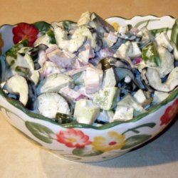 Cucumbers With Cream And Dill recipe
