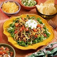 Rice Taco Salad recipe