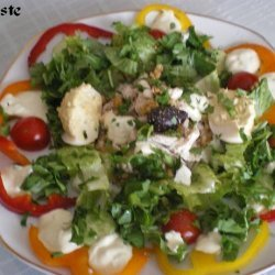 Chicken Salad With Veggies recipe
