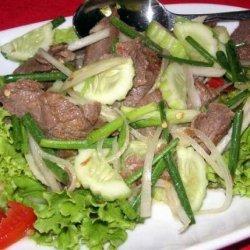 Yam Naue Yang -thai Beef Salad recipe