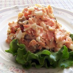 Salmon Salad In English recipe