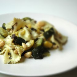Grilled Yellow Squash And Zucchini Pasta Salad recipe