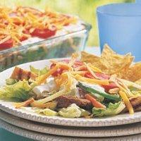 Fajita Layered Salad recipe