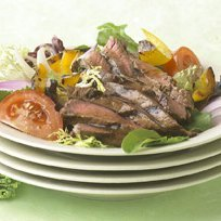 Grilled Steak And Vegetable Salad recipe