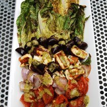 Bbq Greek Salad With Marinade recipe