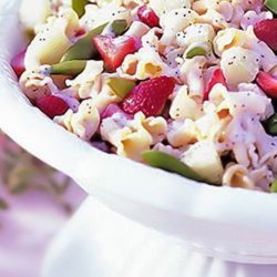 Colorful And Fruity Pasta Salad recipe
