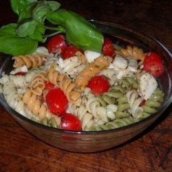 Caprese Inspired Pasta Salad recipe