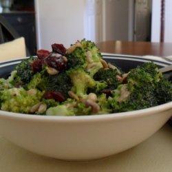 Creamy Broccoli-sunflower Seed Salad recipe