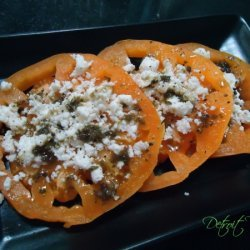 Heirloom Tomato And Feta Salad recipe