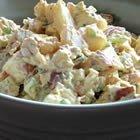 Microwave Dill Baked Potatoe Salad recipe