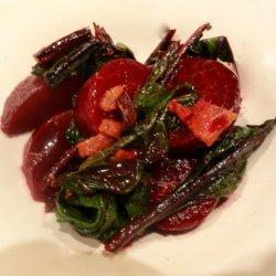 Warm Beet Salad recipe