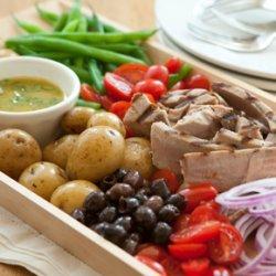 Grilled Tuna Nicoise Salad recipe