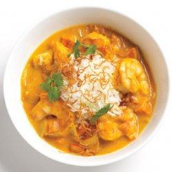 Pumpkin Shrimp Curry recipe