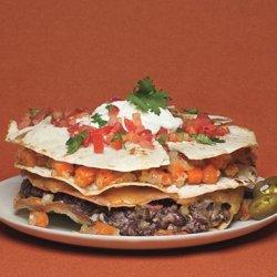 Stacked Veggie Quesadilla recipe