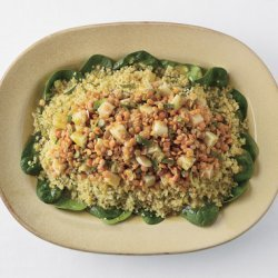 Curried Red Lentil Kohlrabi, and Couscous Salad recipe