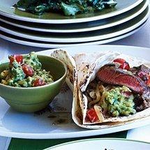 Steak Fajitas with Fresh Lime recipe