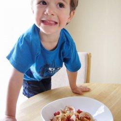 Spaghetti with Red Clam Sauce recipe