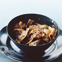 Pappardelle with Vegetable  Bolognese  recipe