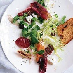 Radicchio Salad with Oranges and Olives recipe