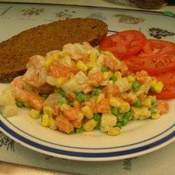 Shrimp Salad With Horseradish And Dill recipe