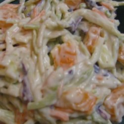 Kickin' Broccoli Slaw recipe