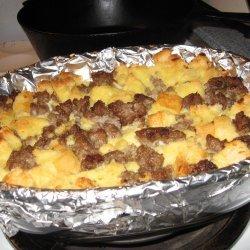 Overnight Sausage Strata recipe