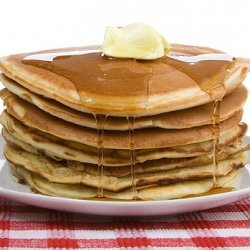 Buttermilk Pancakes With Oatmeal recipe