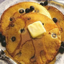 Blueberry Cheese Pancakes recipe