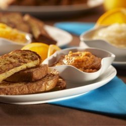 French Toast Fingers With Fruit Dips recipe