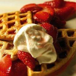 Healthy Whole Grain Waffles recipe