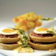 Sopes And Poached Eggs recipe