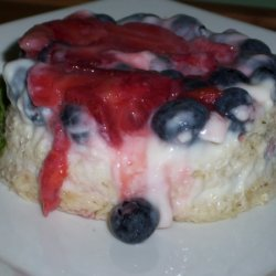 Overnight Berry Breakfast Pudding recipe