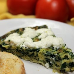 Spinach And Tarragon Frittata recipe