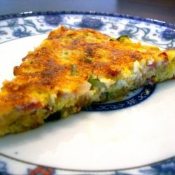 Veggie Bacon Frittata recipe