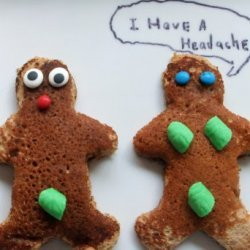 Adam And Eve Gingerbread Pancakes recipe