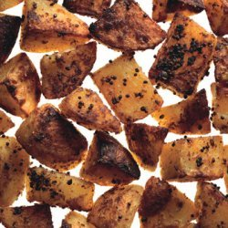Mustard And Coriander Roasted Potatoes recipe
